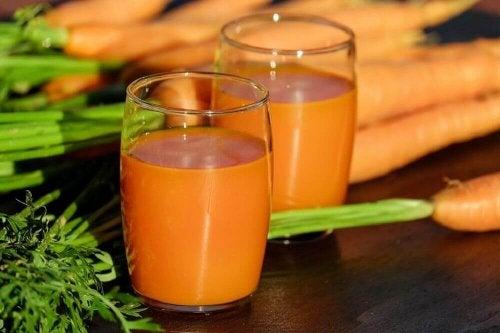 моркови и лук за борба с кашлицата