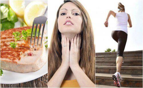 6 полезни съвета за подобряване функционирането на щитовидната жлеза