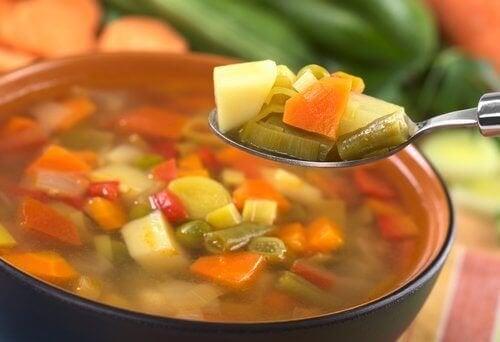 използвайте различни зеленчуци за приготвянето на здравословна и бърза вечеря