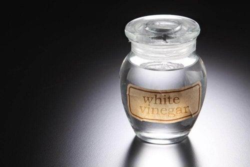 белият оцет ще ви помогне при гъбички по главата