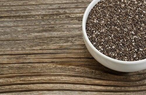 семената от чиа ускоряват метаболизма