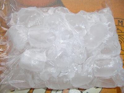 използването на лед ще ви помогне да се справите при болка в коляното