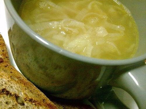 Лучена супа за бъбреците