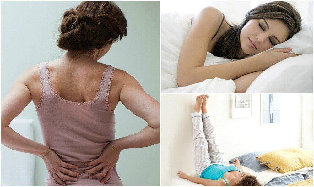 7 неща, които можете да направите, за да се отървете от болката в долната част на гърба