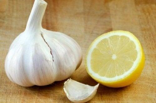 мехлем с чесън и лимон против разширени вени