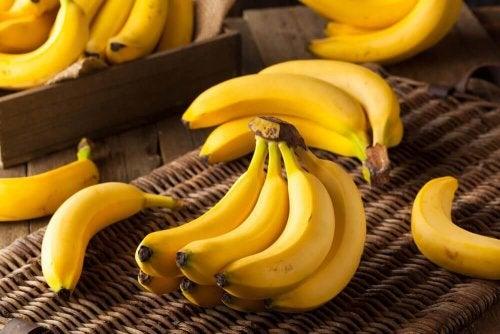 банани по време на диетата със супа от зеле