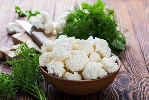 Рецепта за огретен с карфиол и сос бешамел