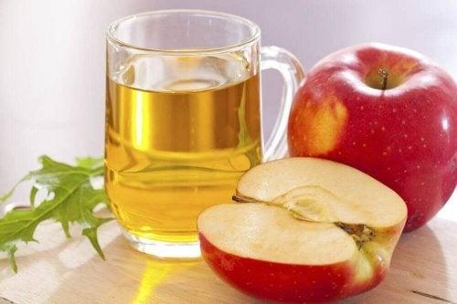 ябълков оцет срещу досадните киселини