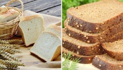 Бял или пълнозърнест? Кой е по-полезният хляб?