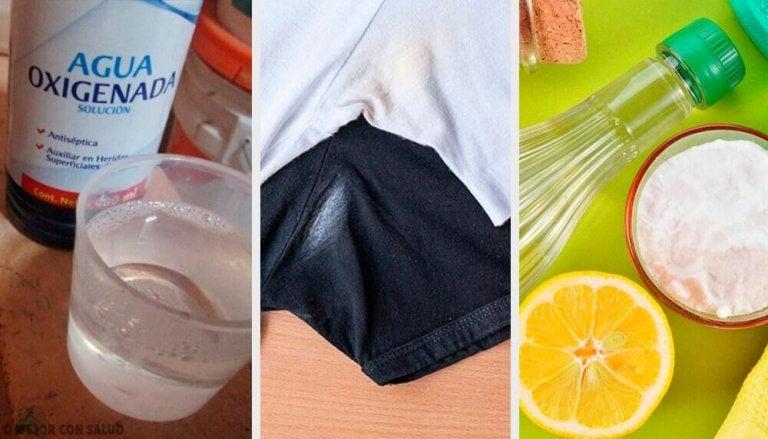 Петна от дезодорант - 6 начина да ги премахнем от дрехите