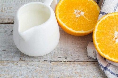 обелки от портокали за изсветляване на пигментните петна