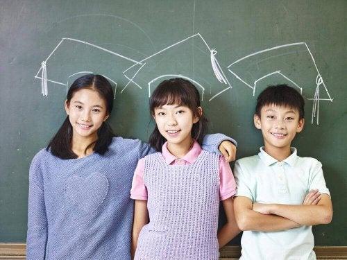 възпитанието на японските деца е различно от модела, възприет в Европа