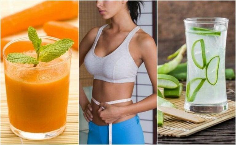 За сваляне на корема - 5 натурални сока