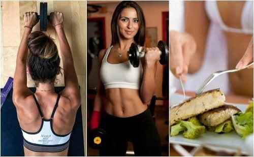 5 кратки съвета за изграждане на мускулна маса и стопяване на мазнините