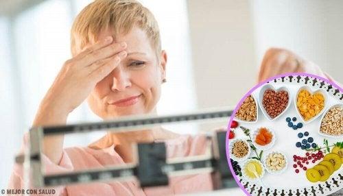 Идеалната диета за отслабване по време на менопаузата