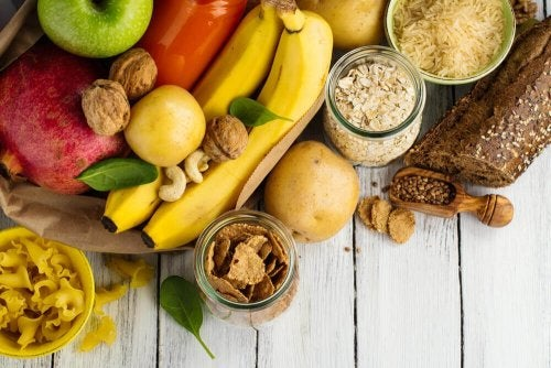 изграждане на мускулна маса: храни, богати на въглехидрати