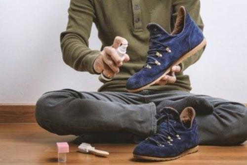 как да почистите обувките си от велур