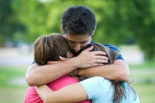 семейството ще ви помогне да забравите болката и да започнете отначало
