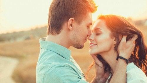 целуването е форма на физическа и духовна близост