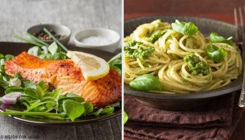 3 идеи за бърза и здравословна вечеря