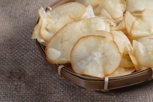 зеленчуков чипс от юка