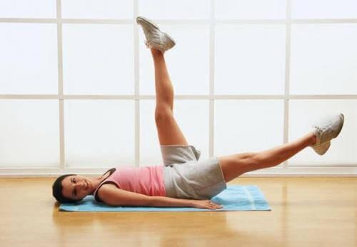 Упражнение за коремните мускули