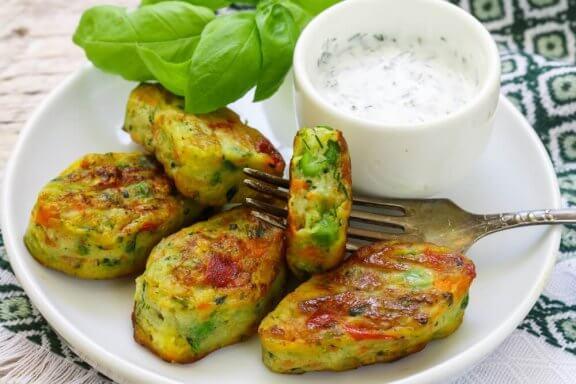 Три рецепти за вегетариански хапки