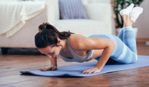 Отслабване без диети, а с тренировки