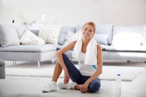 Не е трудно сами да си създадете фитнес у дома.