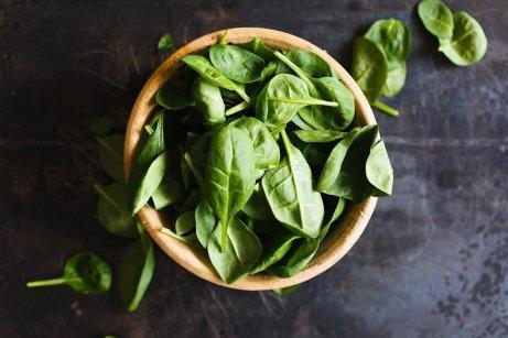 Зеленолистни зеленчуци за здравето на очите