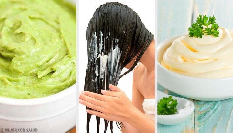 5 натурални маски за блестяща и копринена коса