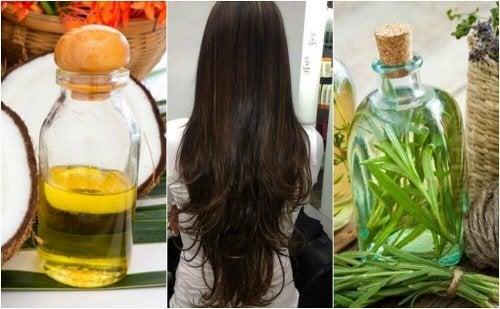 Домашно средство за стимулиране растежа на косата