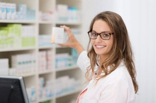 Една аптекарка в аптека