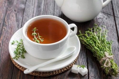 Чай от мащерка