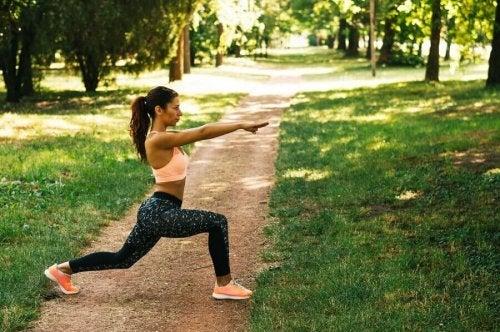 Спортът спомага за контролиране на стреса и нервността.