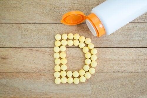 Витамин D спомага усвояването на калция от организма.