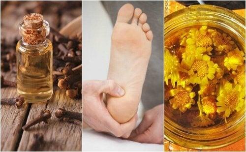 Облекчете болката в петите с тези 6 натурални средства