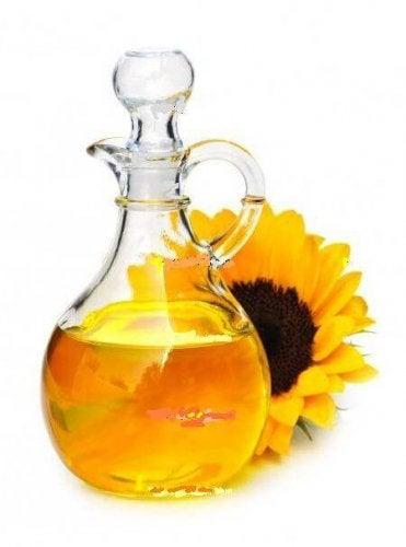 Растителните масла са също с високо съдържание на витамин Е.