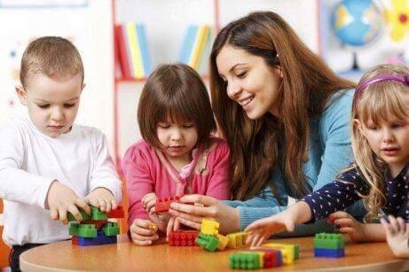 Занимания с деца за оценяване на способностите им