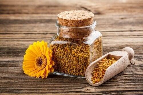 За децата с лош апетит: бурканче с пчелен прашец