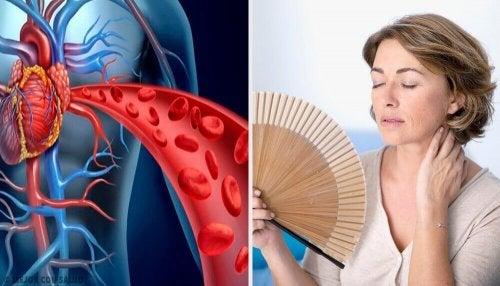 Как менопаузата се отразява на сърцето
