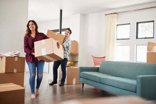 Направете преместването в новия си дом и ново начало в живота ви.