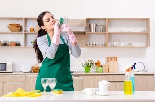 Пет алтернативни употреби на препаратите за стъкло