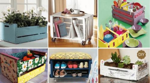 Декорации с кутии: 7 забавни идеи за направи си сам