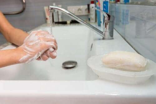 Оползотворете лесно остатъците от сапун