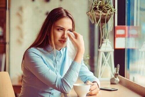 Един травмиращ развод е свързан с много тъга.