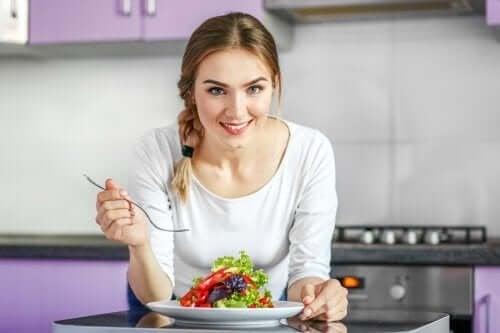 Започнете вегетарианска диета богата на хранителни вещества