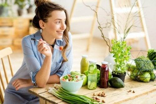 Започнете вегетарианска диета и си набавяйте достатъчно желязо.