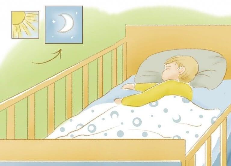 Сънят на детето: как да научите детето да спи през нощта