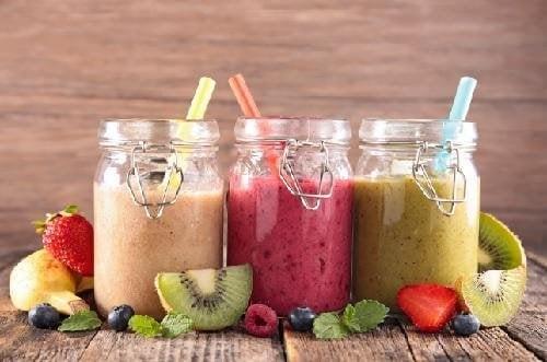 7 богати на хранителни вещества вкусни смутита